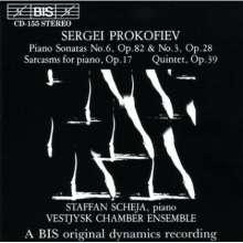 Serge Prokofieff (1891-1953): Quintett op.39, CD