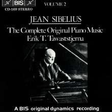 Jean Sibelius (1865-1957): Klavierwerke Vol.2, CD