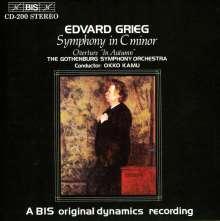 Edvard Grieg (1843-1907): Symphonie c-moll, CD