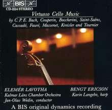 Elemer Lavotha spielt Cellokonzerte, CD