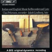 Musik für Blockflöte & Laute, CD