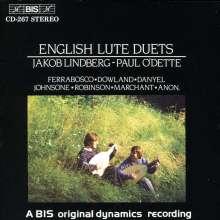 Jakob Lindberg & Paul O'Dette - Englische Lautenduette, CD