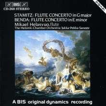 Frantisek Benda (1709-1786): Flötenkonzert e-moll, CD