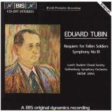 Eduard Tubin (1905-1982): Requiem für gefallene Soldaten, CD