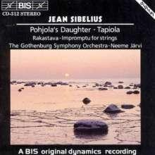 Jean Sibelius (1865-1957): Tapiola op.112, CD