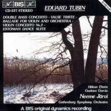 Eduard Tubin (1905-1982): Violinkonzert Nr.2, CD