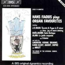 Hans Fagius - Organ Favourites, CD