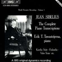 Jean Sibelius (1865-1957): Klaviertranskriptionen Vol.1, CD