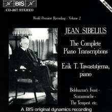 Jean Sibelius (1865-1957): Klaviertranskriptionen Vol.2, CD