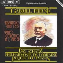 Gabriel Pierne (1863-1937): Ramuntcho-Suiten Nr.1 & 2, CD