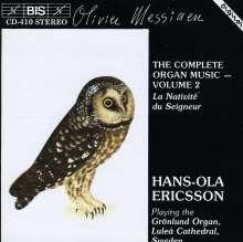 Olivier Messiaen (1908-1992): Orgelwerke Vol.2, CD