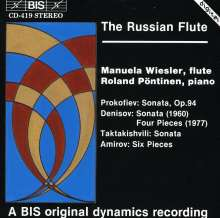 Manuela Wiesler - The Russian Flute, CD