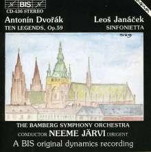 Antonin Dvorak (1841-1904): Legenden op.59, CD