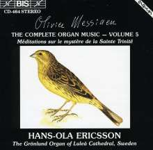 Olivier Messiaen (1908-1992): Orgelwerke Vol.5, CD