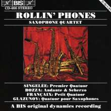 Rollin' Phones Saxophone Quartet, CD