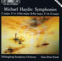 Michael Haydn (1737-1806): Symphonien P.18 & 31, CD