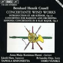 Bernhard Crusell (1775-1838): Konzertante Symphonien für Bläser, CD