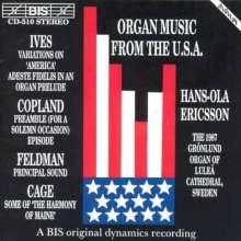 Amerikanische Orgelmusik, CD