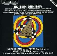 Edison Denisov (1929-1996): Konzert f.2 Violas,Cembalo & Streichorch., CD