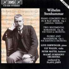Wilhelm Stenhammar (1871-1927): Klavierkonzert Nr.1, CD