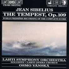 Jean Sibelius (1865-1957): The Tempest op.109, CD