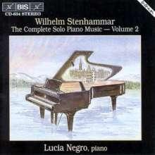 Wilhelm Stenhammar (1871-1927): Sämtliche Klavierwerke Vol.2, CD