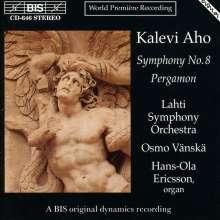 Kalevi Aho (geb. 1949): Symphonie Nr.8, CD