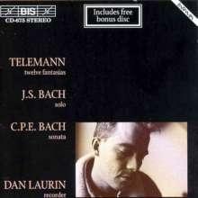 Georg Philipp Telemann (1681-1767): Fantasien für Flöte Nr.1-12, 2 CDs