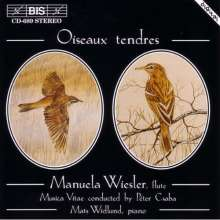 Manuela Wiesler - Oiseaux tendres, CD