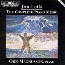 Jon Leifs (1899-1968): Sämtliche Klavierwerke, CD