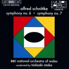 Alfred Schnittke (1934-1998): Symphonien Nr.6 & 7, CD