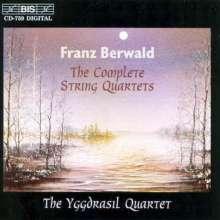 Franz Berwald (1796-1868): Streichquartette Nr.1-3, CD