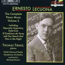 Ernesto Lecuona (1895-1963): Sämtliche Klavierwerke Vol.2, CD