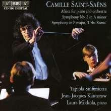 Camille Saint-Saens (1835-1921): Symphonie Nr.2, CD