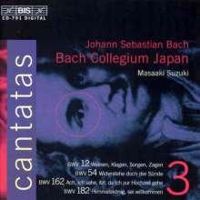 Johann Sebastian Bach (1685-1750): Kantaten Vol.3 (BIS-Edition), CD