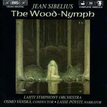 Jean Sibelius (1865-1957): Die Waldnymphe op.15, CD
