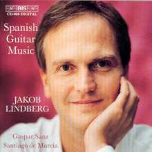 Jakob Lindberg - Spanish Guitar Music, CD
