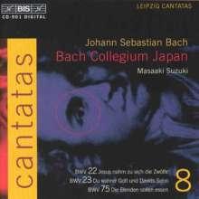 Johann Sebastian Bach (1685-1750): Kantaten Vol.8 (BIS-Edition), CD