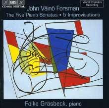 John Väinö Forsman (geb. 1924): Klavierwerke, CD