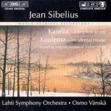 Jean Sibelius (1865-1957): Karelia-Musik (Vollständige Version), CD