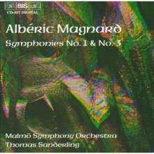 Alberic Magnard (1865-1914): Symphonien Nr.1 & 3, CD
