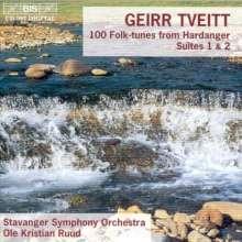 Geirr Tveitt (1908-1981): Hardanger-Suiten Nr.1 & 2, CD