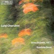 Luigi Cherubini (1760-1842): Streichquartette Nr.1 & 2, CD