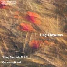 Luigi Cherubini (1760-1842): Streichquartette Nr.3 & 4, CD