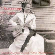 Claude Delangle - A Saxophone for a Lady, CD