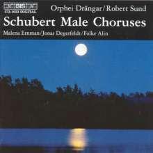 Franz Schubert (1797-1828): Männerchöre, CD