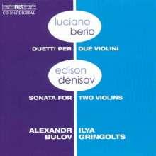 Luciano Berio (1925-2003): Duetti für 2 Violinen, CD