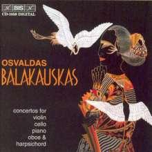 "Osvaldas Balakauskas (geb. 1937): Violinkonzert ""Concerto Brio"", CD"