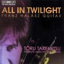 Toru Takemitsu (1930-1996): Gitarrenwerke, CD