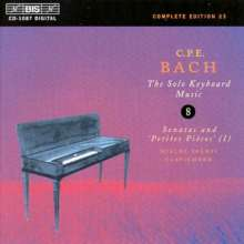 Carl Philipp Emanuel Bach (1714-1788): Cembalosonaten Wq.62,17 & Wq.65 Nr.28, CD